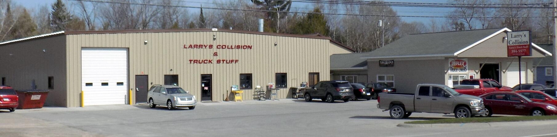 Larry's Collision and Truck Stuff, 1212 U.S. 23 North, Alpena, MI